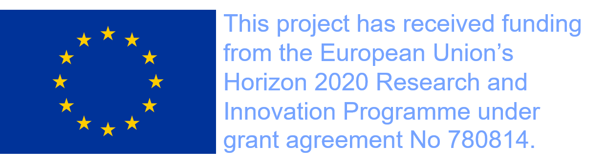 This project has received funding from the European Union's Horizon 2020 Research and Innovation Programme under grant agreement No 780814