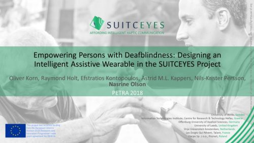 Cover slide of SUITCEYES