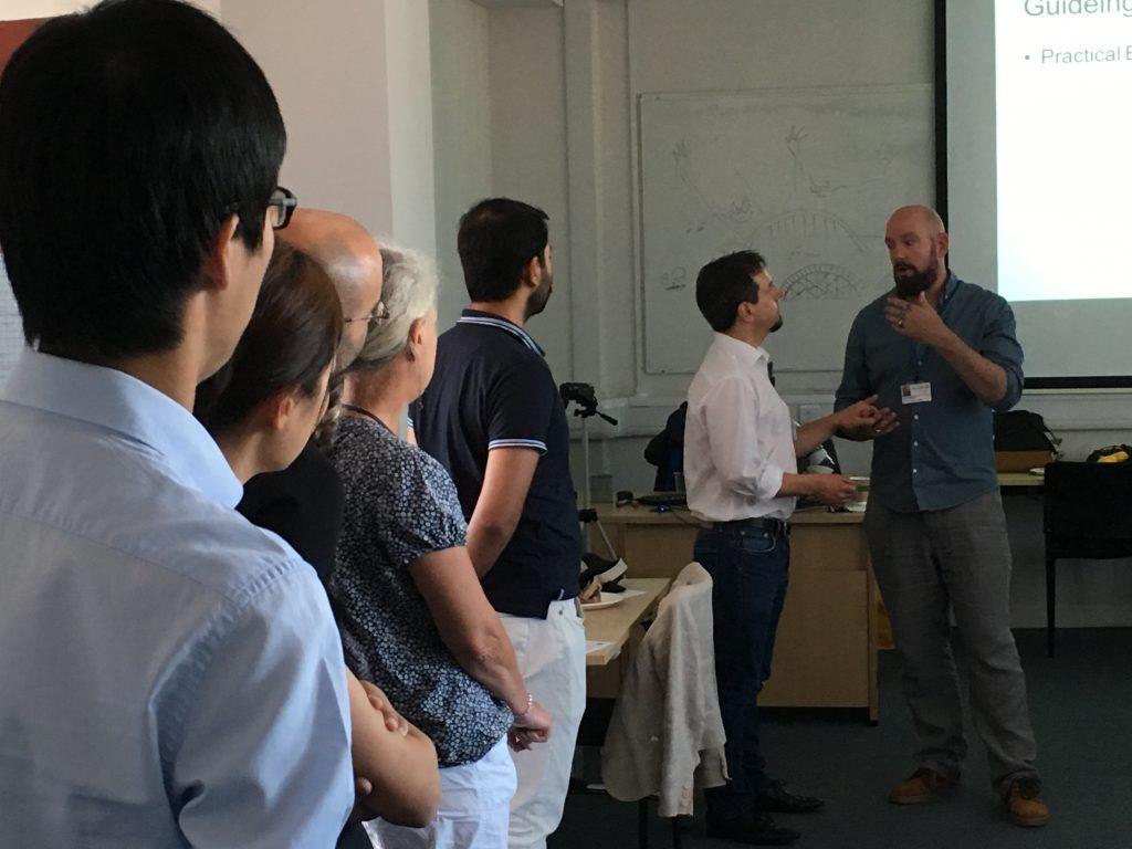 Workshop with Deafblind UK