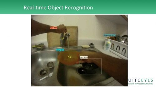 example of real-time object recognition
