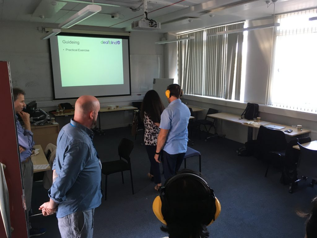 Exercise with Deafblind UK