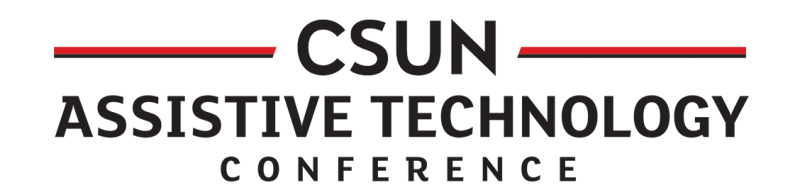 Logo of the CSUN conference