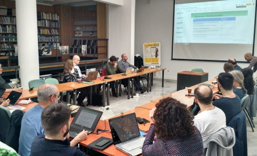 Consortium Meeting in Thessaloniki, April 2019